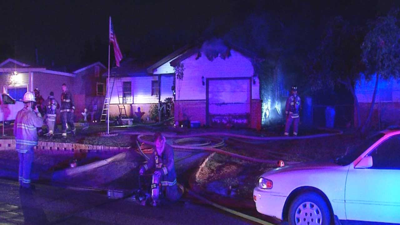 Neighbor Credited With Saving Family Of 4 During OKC House Fire