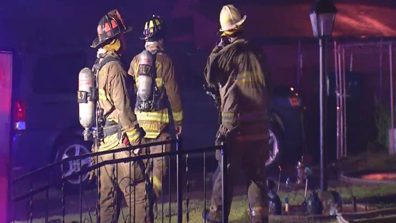 Authorities: Storms To Blame For Two House Fires In OKC Metro