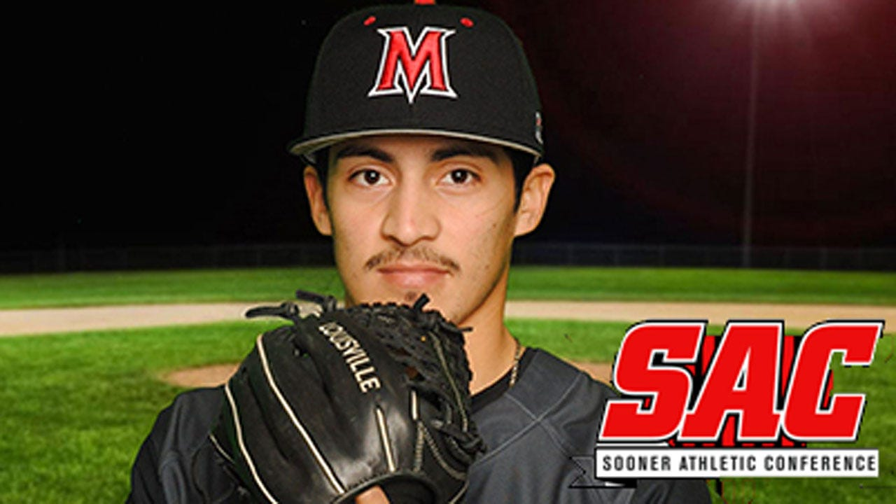 No-Hit Performance Earns Obeso SAC Pitcher of the Week Honor