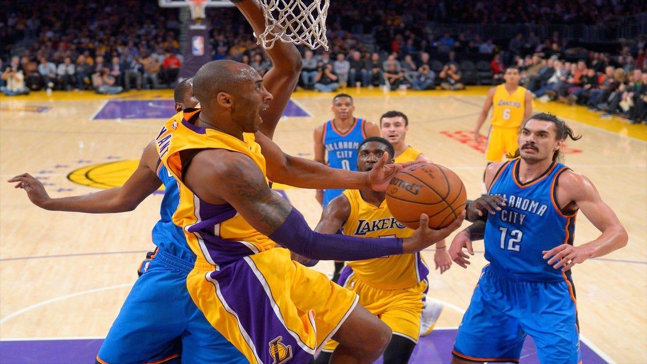 Thunder Social Scene: Kobe's Last Road Game
