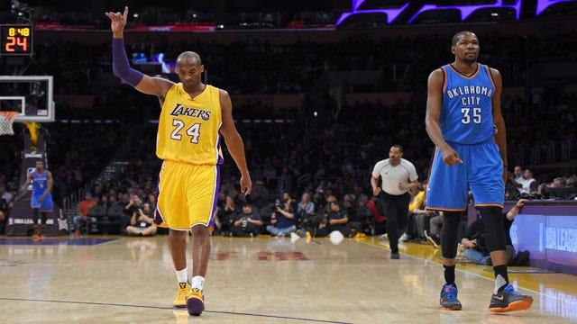 Thunder vs. Lakers Preview: Goodbye, Black Mamba