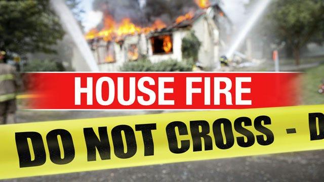 Woman Escapes House Fire In SE OKC