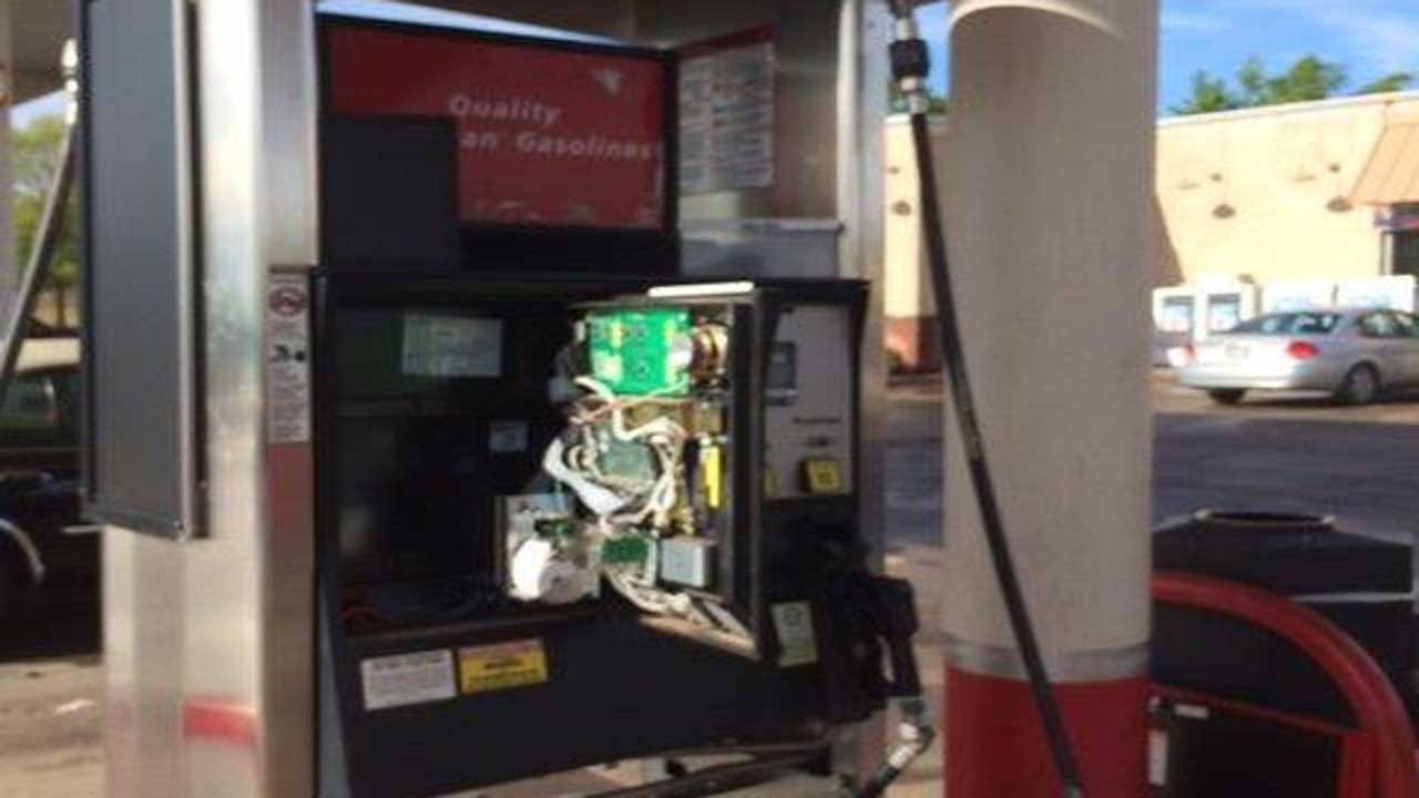 Three Credit Card Skimmers Found At Edmond Gas Station