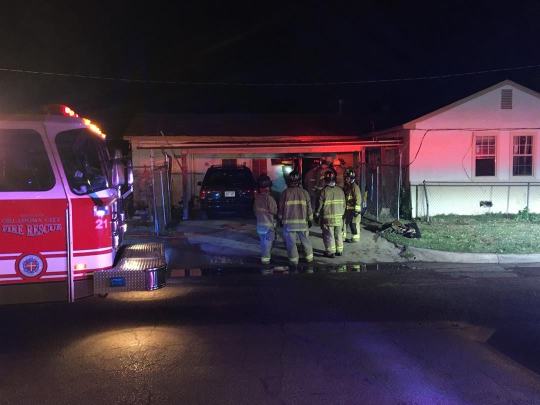 Faulty Wiring Leads To House Fire In SW OKC