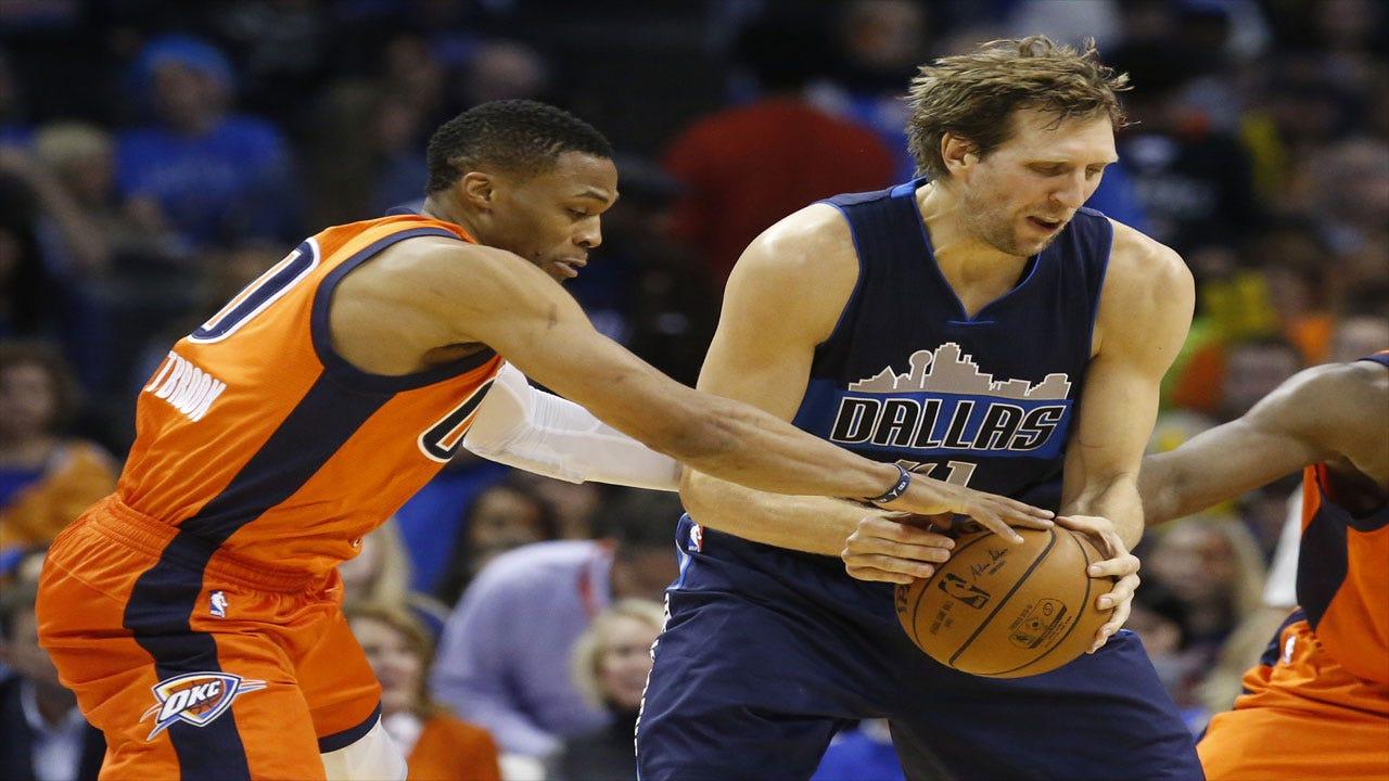 Looking Back: Thunder Swept Mavericks In Regular Season