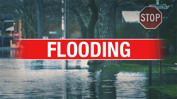 Flooding Causes Road Closures Throughout Oklahoma