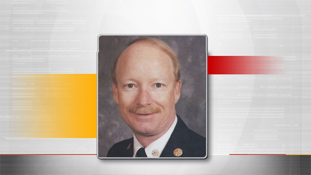 Memorial Service Set For Former OKC Assistant Fire Chief Who Passed Away