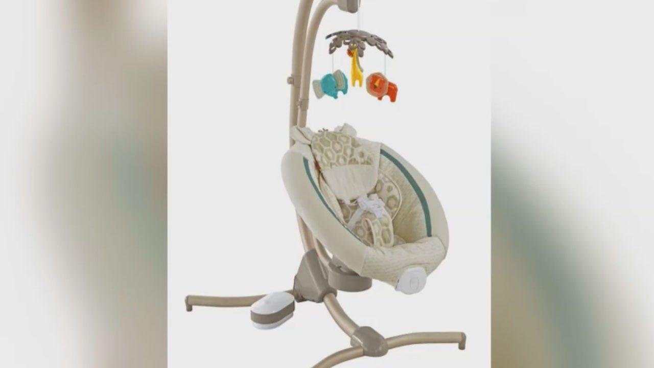 Recall Alert: Cradle 'n Swings, Moogy Plush Toys, Pickups