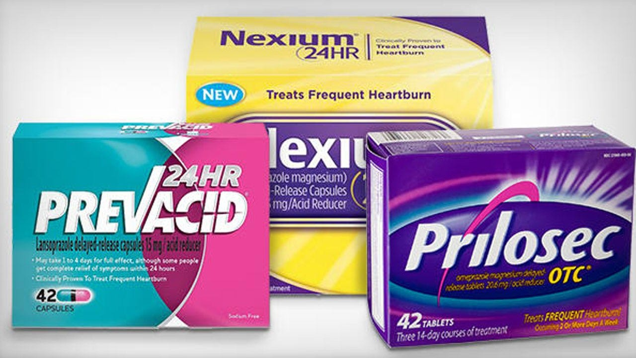 Study Shows Commonly Used Heartburn Drugs May Lead To Kidney Damage