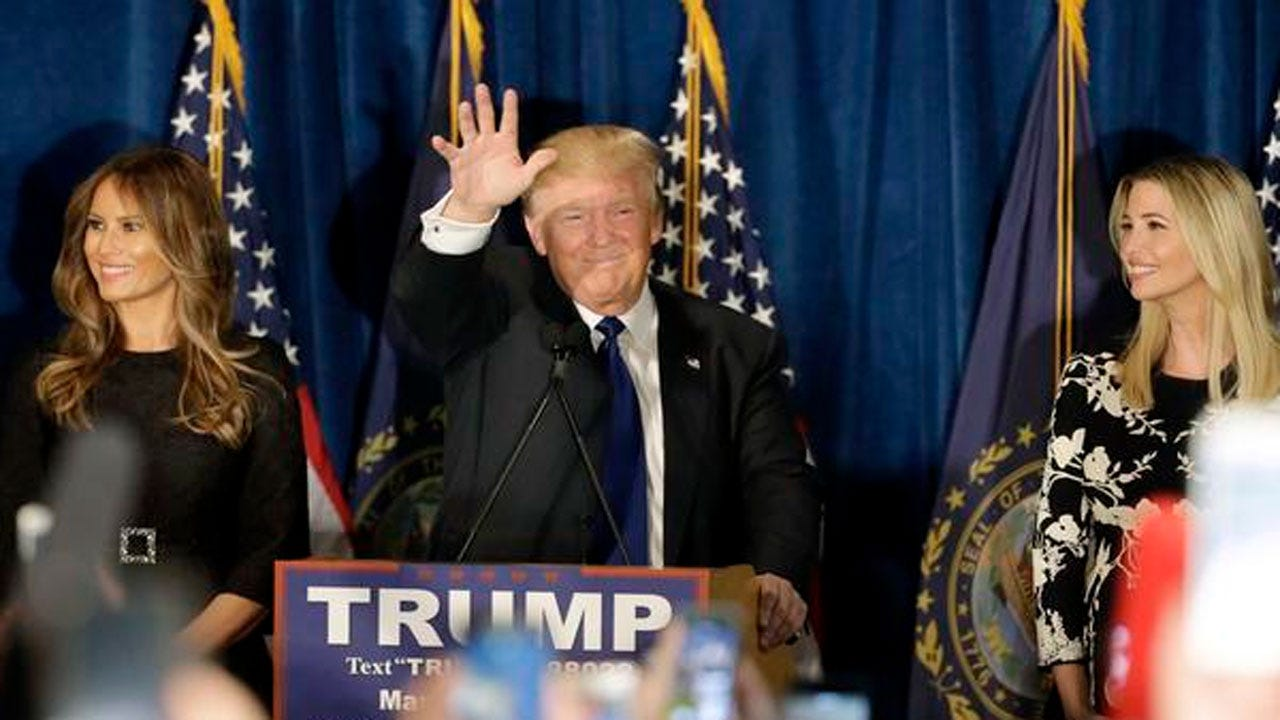 Donald Trump Wins New York Primary, CBS News Projects
