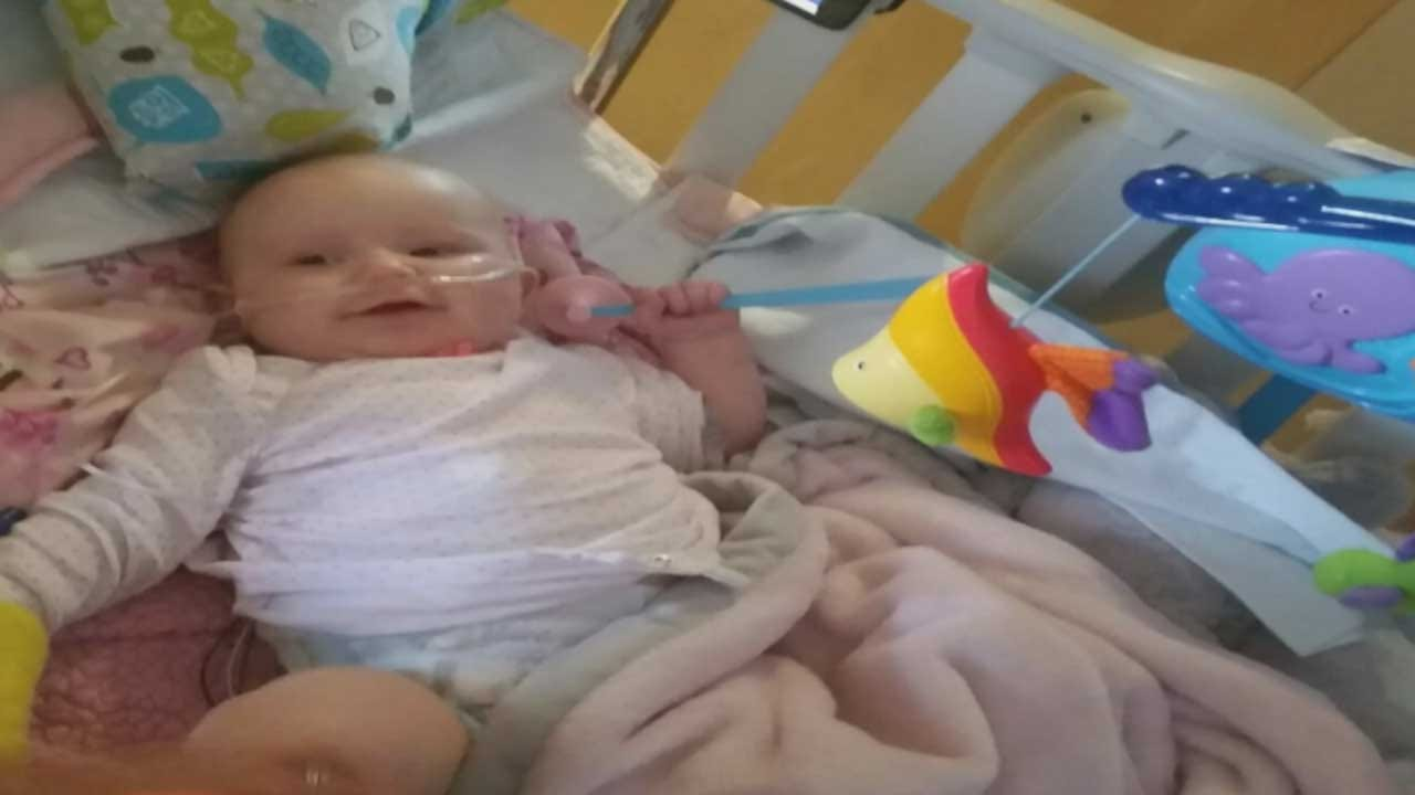 Tecumseh Police, Firefighters Rally To Help Fellow Officer's Sick Baby Girl