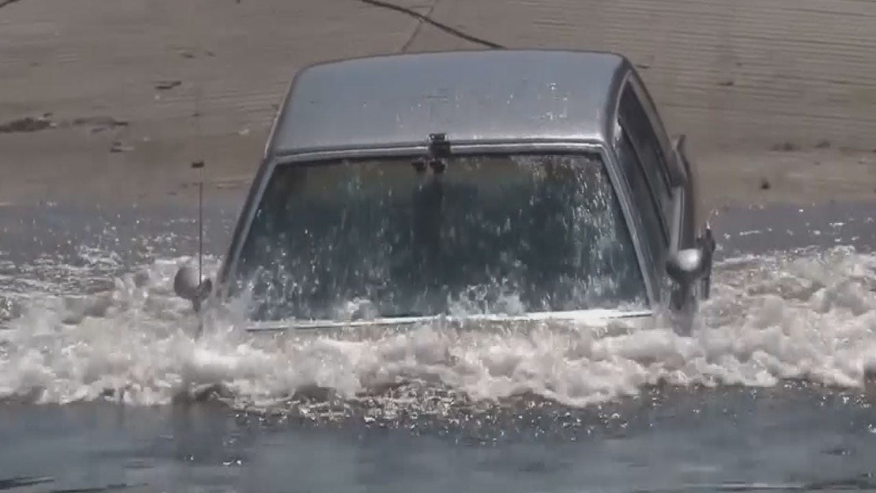 What To Do When Your Vehicle Gets Trapped In High Water