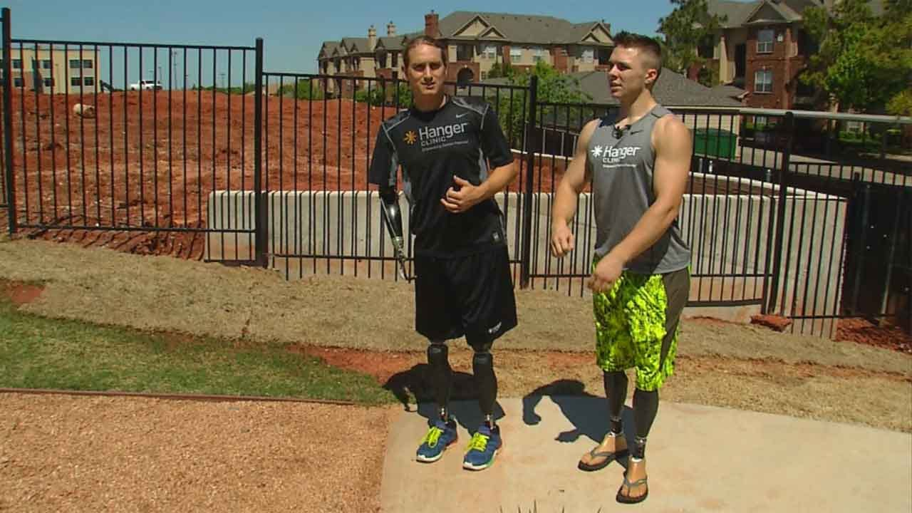 Best Friends & Multiple Amputees To Compete In OKC Memorial Marathon