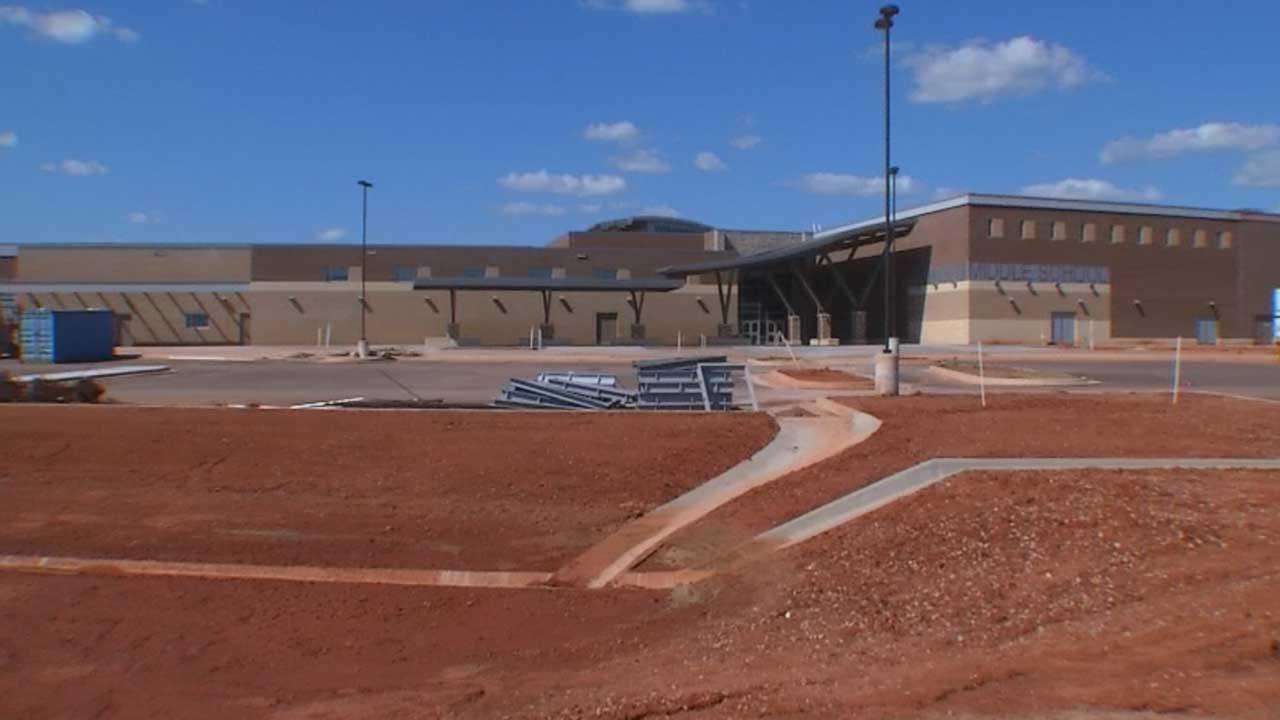 Construction Underway On Edmond Schools Storm Shelters