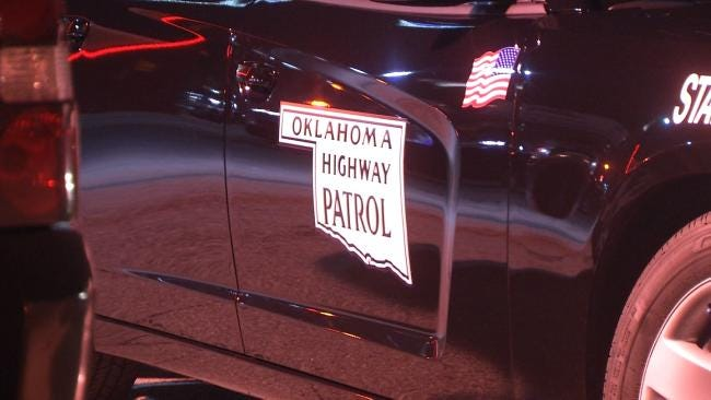 Woman Killed, 2 Children Critical After Head-On Crash In Caddo County