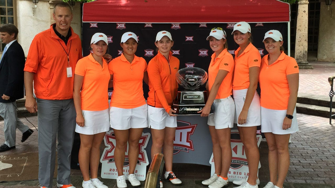 Cowgirl Golf Wins Big 12 Title, Neisen Repeats As Individual Champ