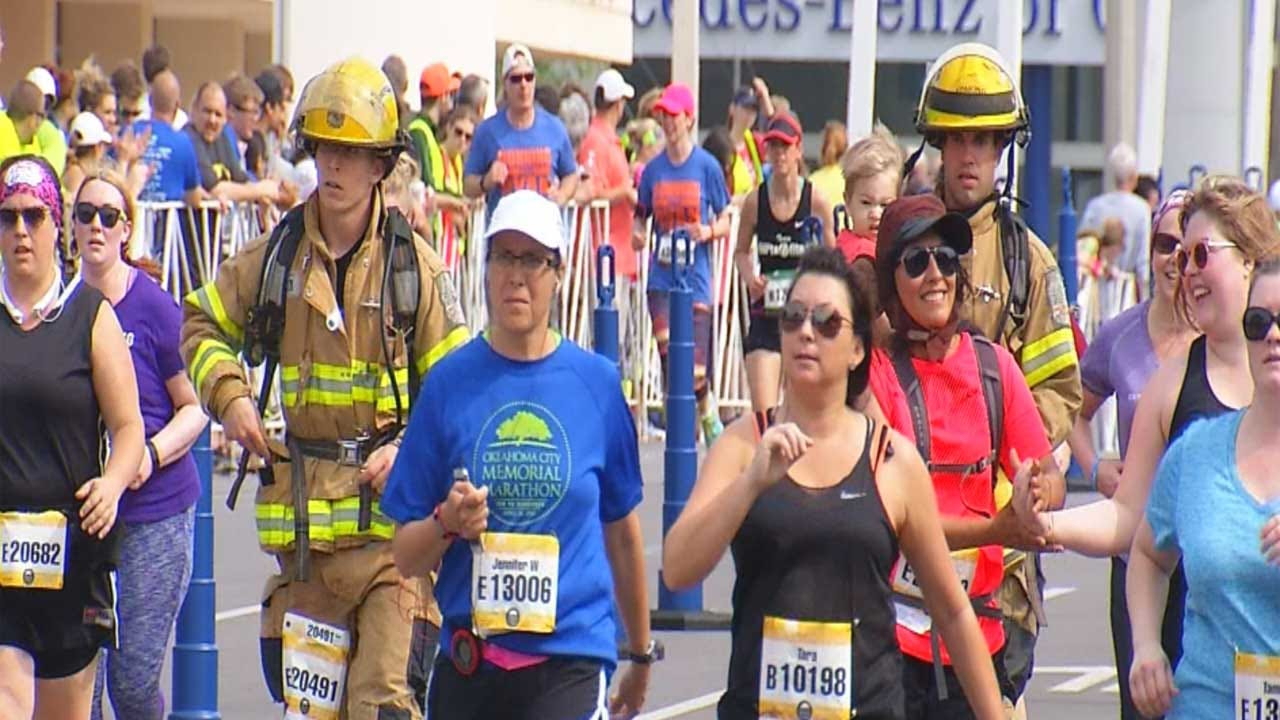 Memorial Marathon Held Sunday In OKC