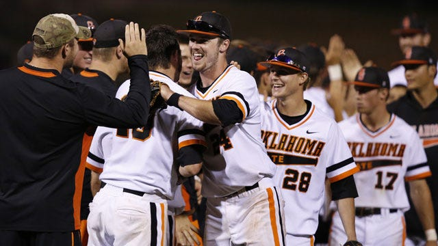 Cowboys Tie Record With Sixth Big 12 Pitcher Of The Week