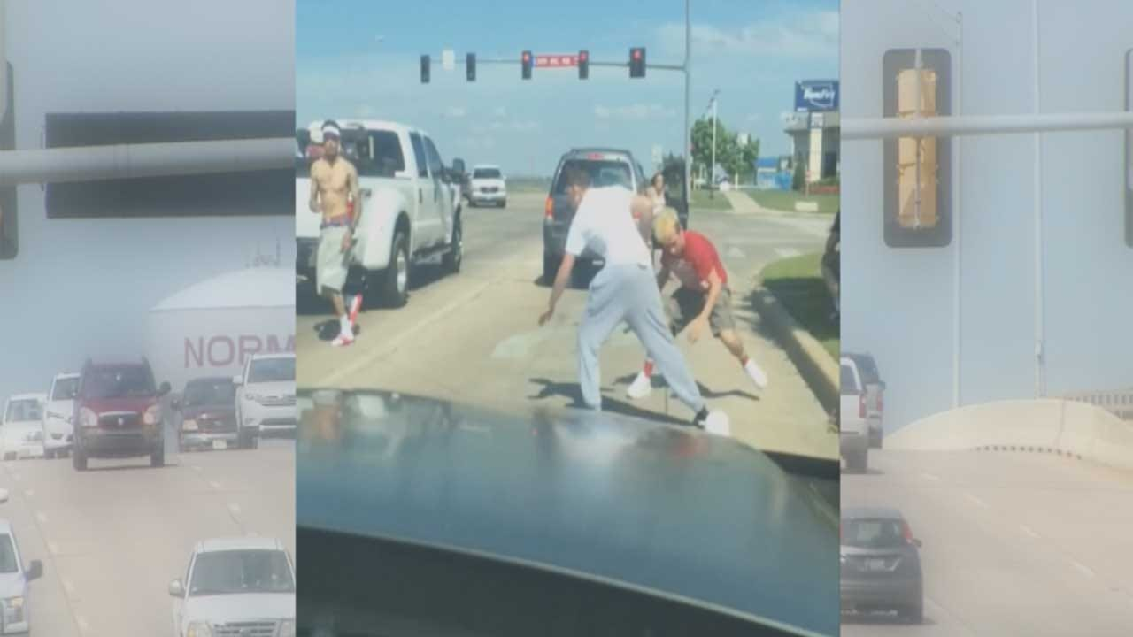 Norman Man Assaulted After Road Rage Incident