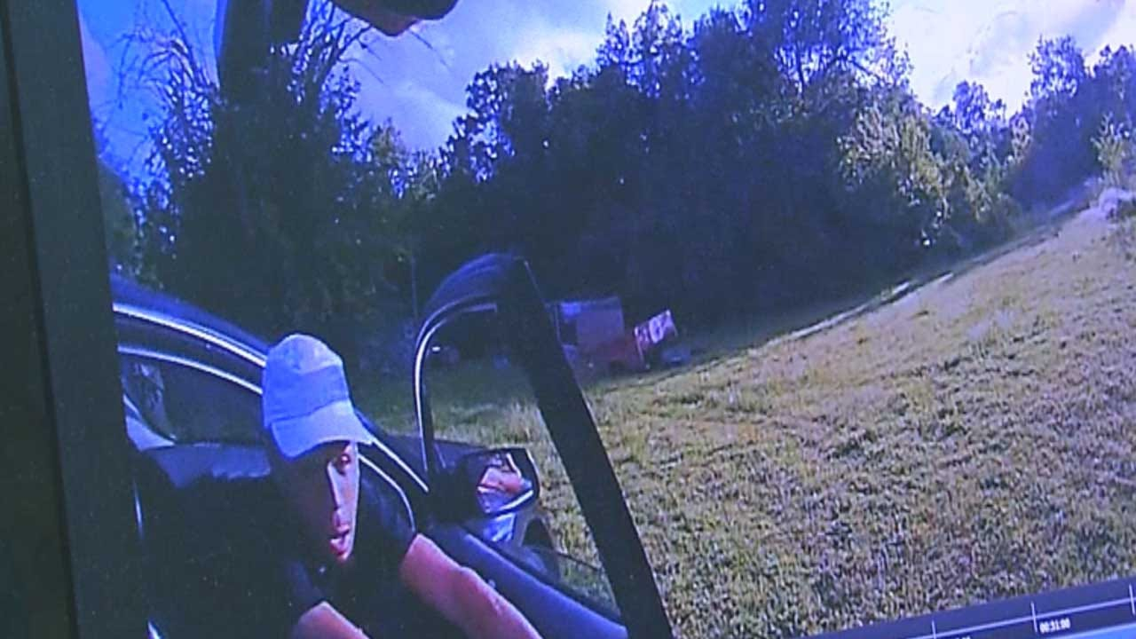 Purcell Police Release Body Cam Video From High-Speed Chase
