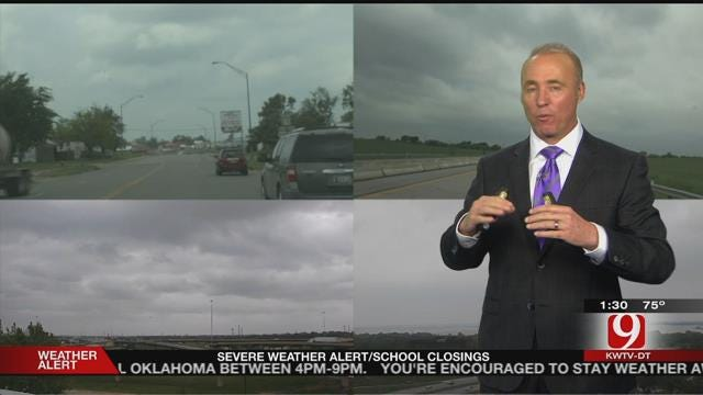 Tornado Watch Issued For 40 Oklahoma Counties