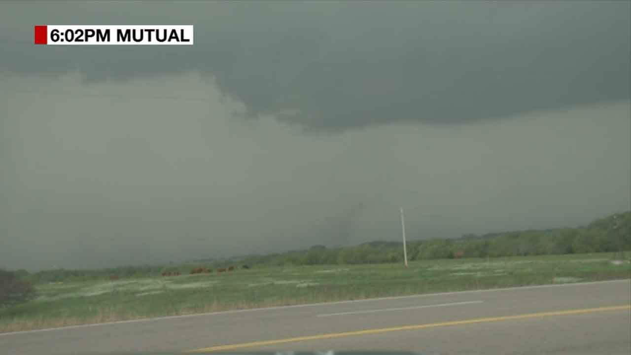 Tornadoes Touch Down As Severe Storms Roll Across Oklahoma