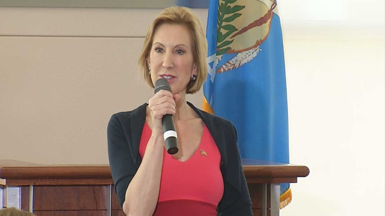 Ted Cruz Chooses Carly Fiorina As Running Mate In Presidential Campaign