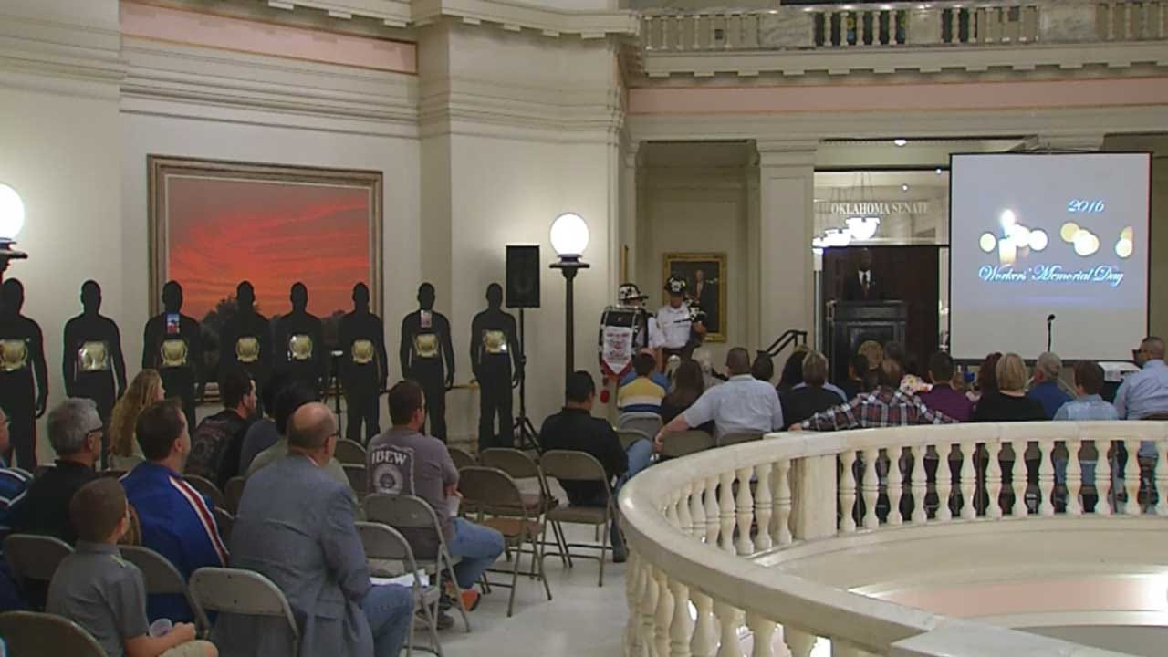 Workers Memorial Day Held At State Capitol