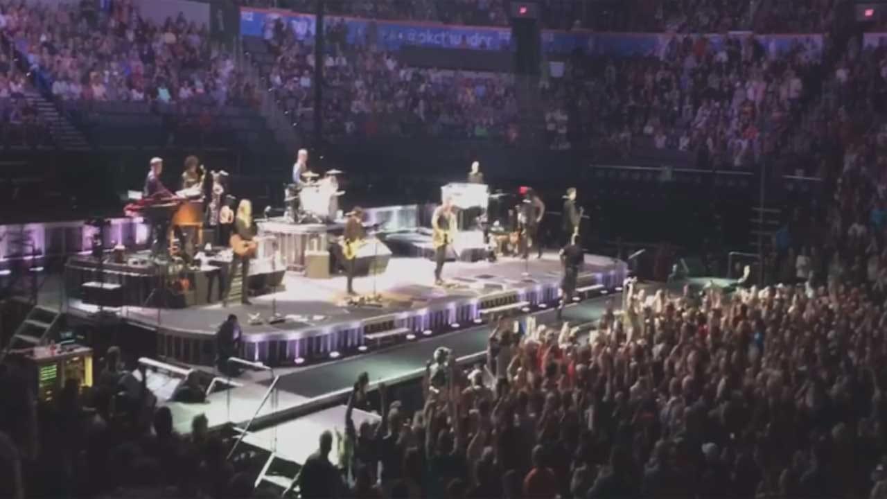 Veterans Honored At Bruce Springsteen Concert In OKC