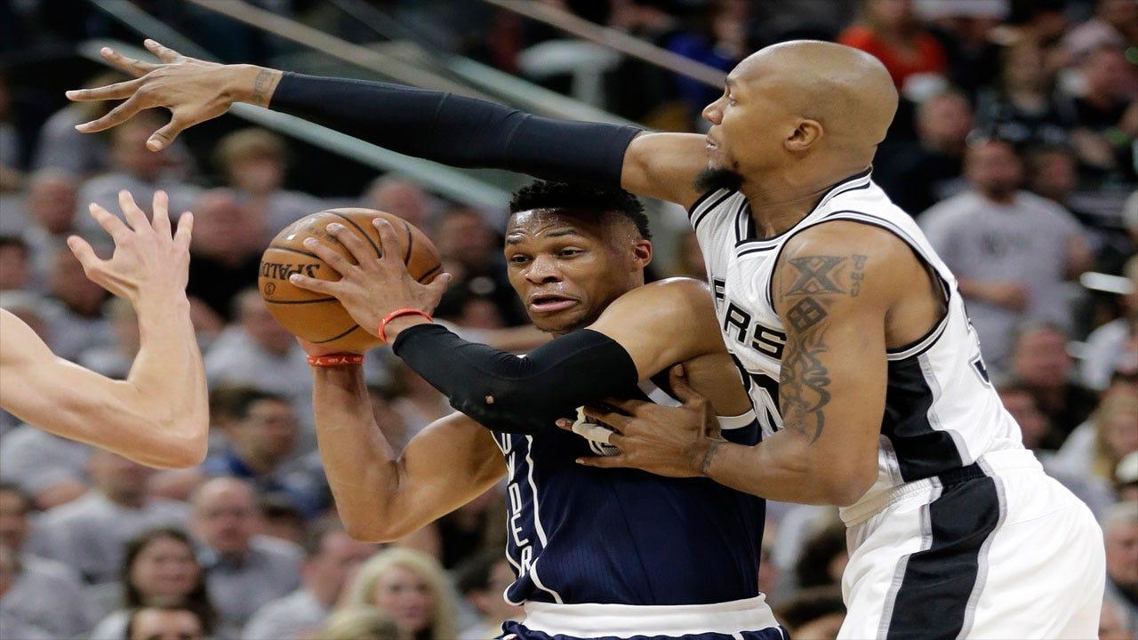 San Antonio Spanking: Spurs Throttle Thunder To Take 1-0 Series Lead