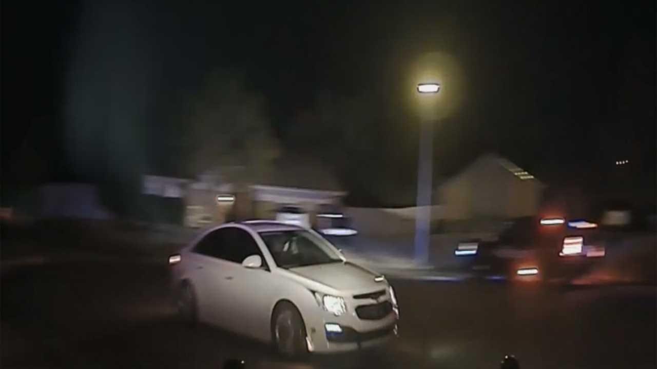 Dashcam Video Shows High Speed Chase In Stillwater Neighborhood
