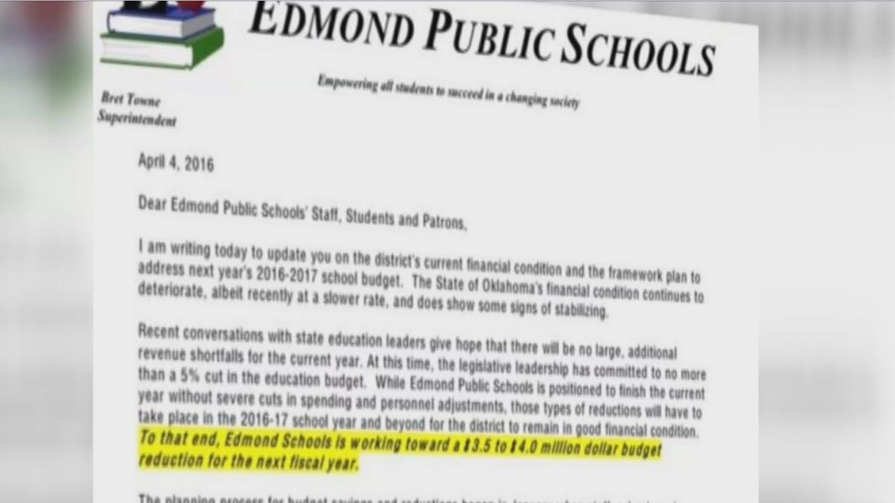 Edmond Public Schools Braces For Budget Reductions