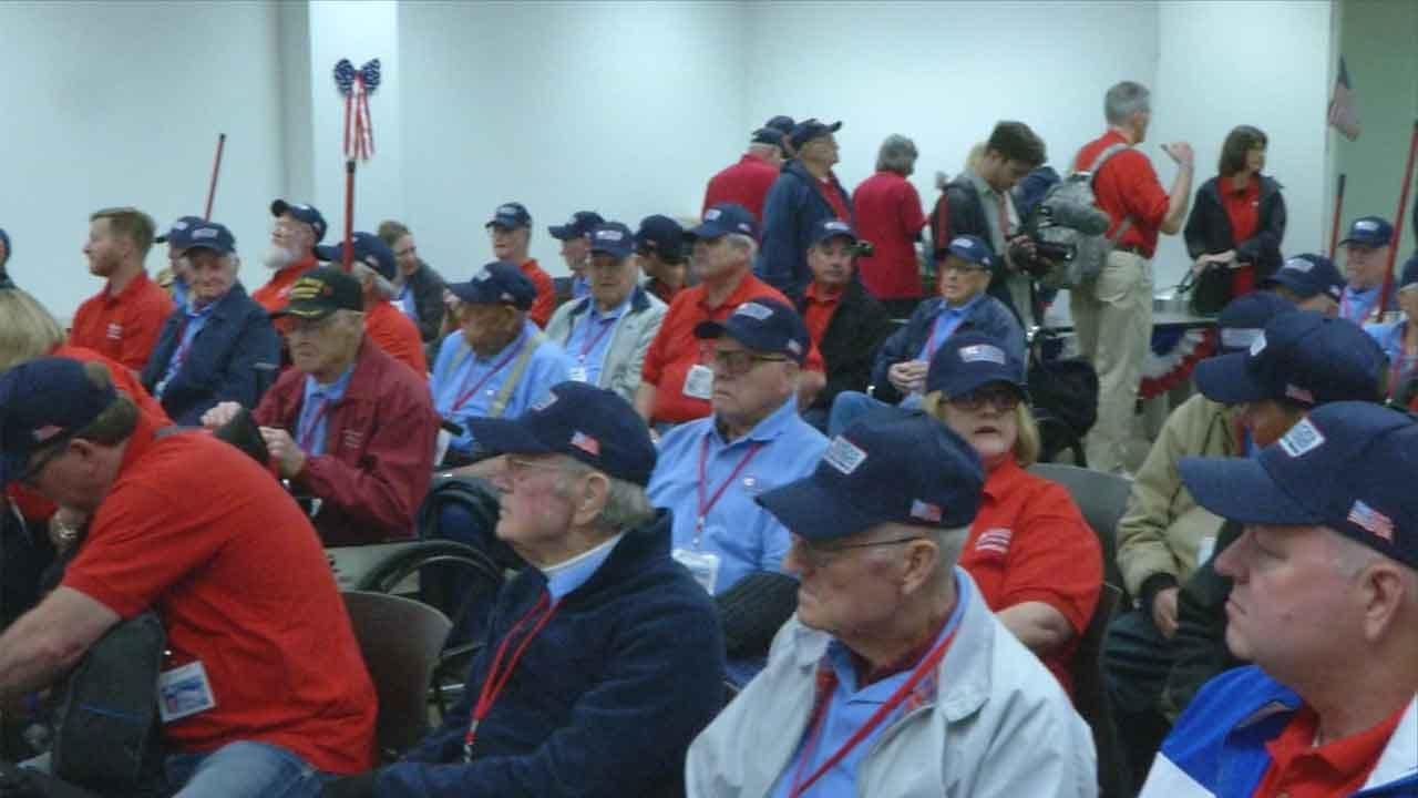 Oklahoma Veterans Embark On Final Honor Flight