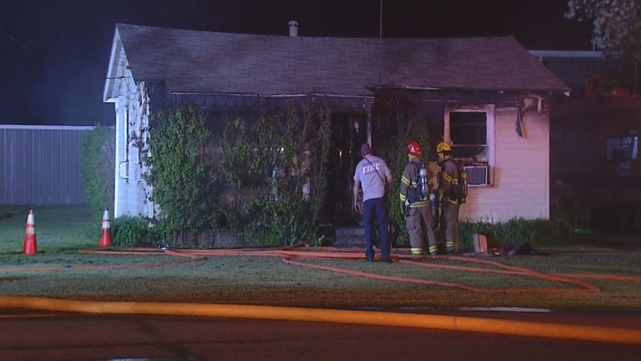 One Person Escapes Overnight House Fire In Moore