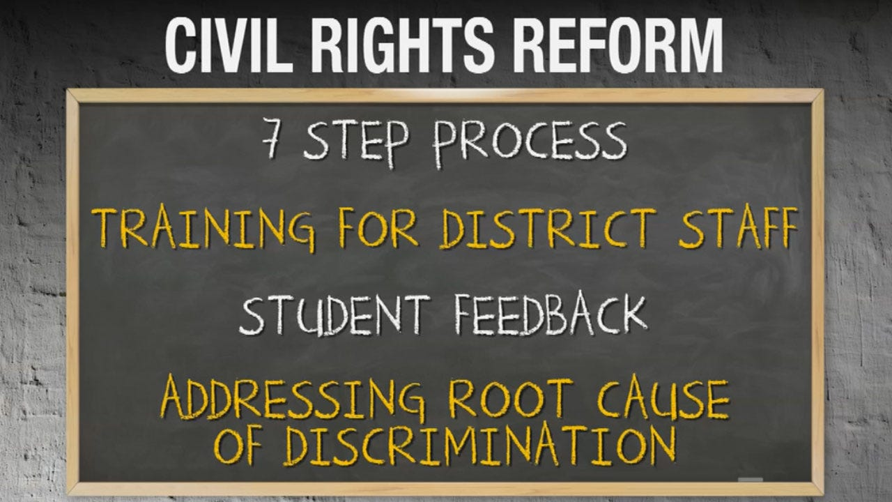 Oklahoma City Public Schools District Outlines Civil Rights Reforms
