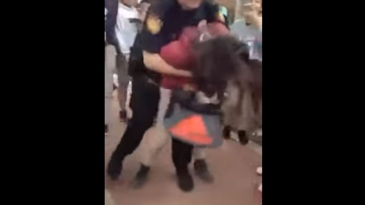 Video Shows San Antonio School Officer Body-Slamming Girl
