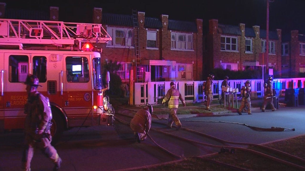 Officials Investigate Apartment Fire In NW OKC