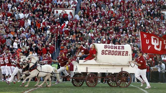 Sooners Win! Red Tops White In Annual Spring Game