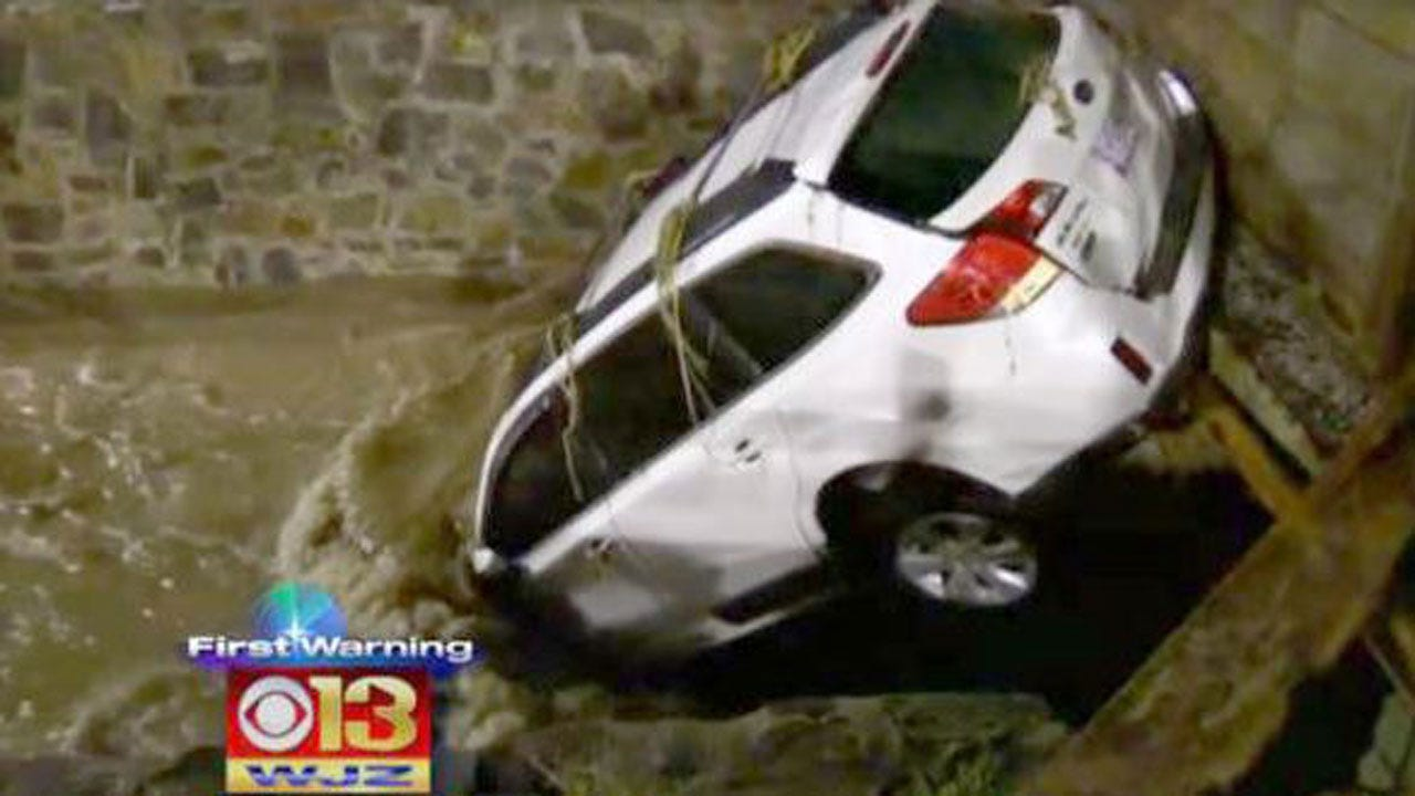 2 Dead After Floodwaters Devastate Maryland town