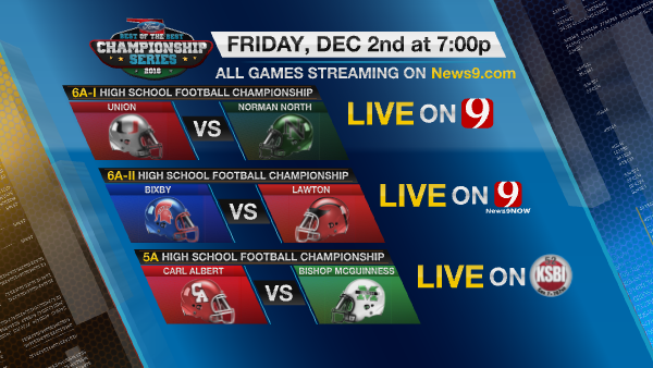 Griffin Communications To Air 2016-17 6A, 5A High School Championship Games