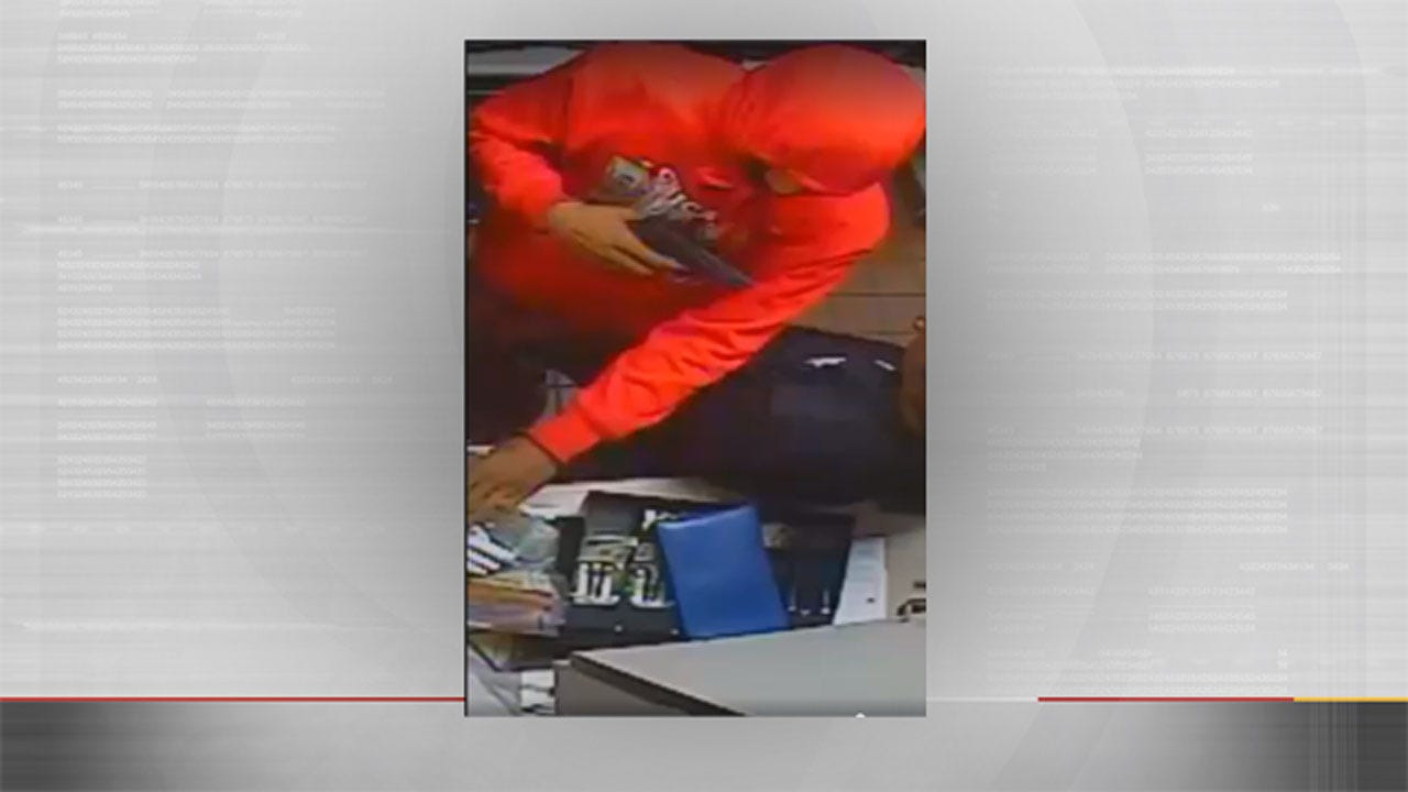 OKC Police Release Surveillance Video Taken During McDonald's Armed Robbery