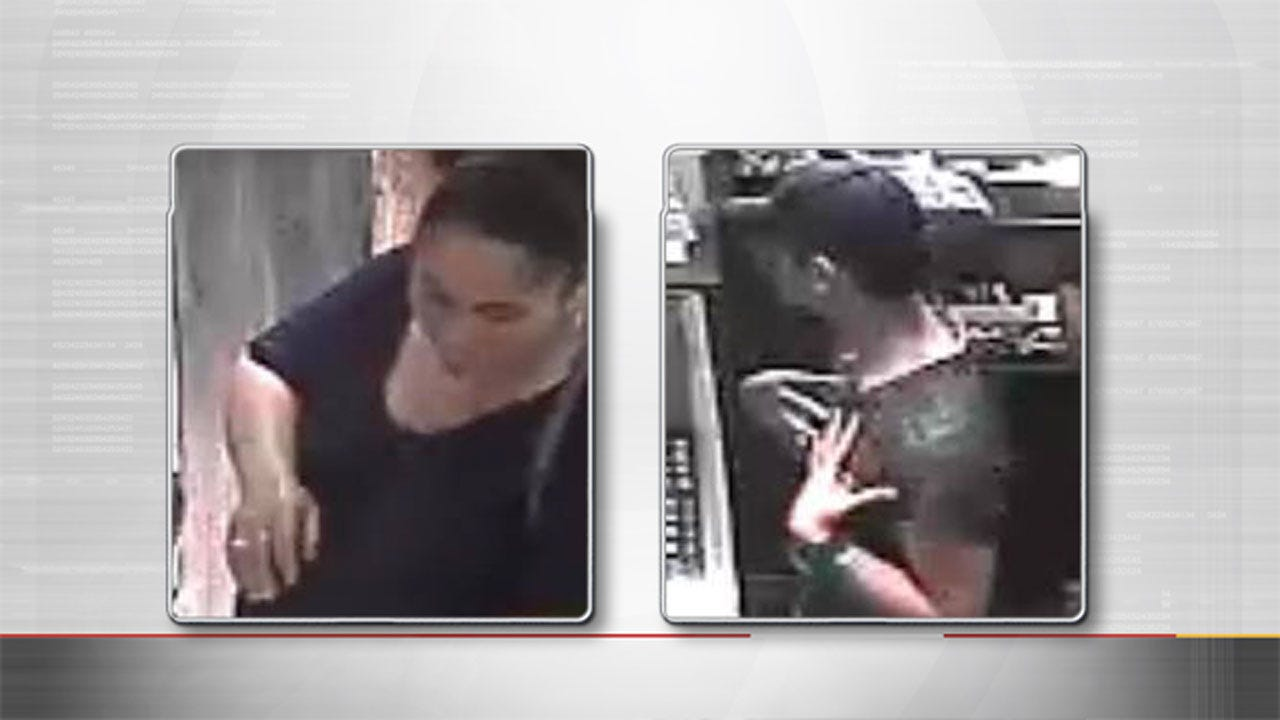 OKC Police Seek Two Who Stole Jewelry, Coins Worth Thousands