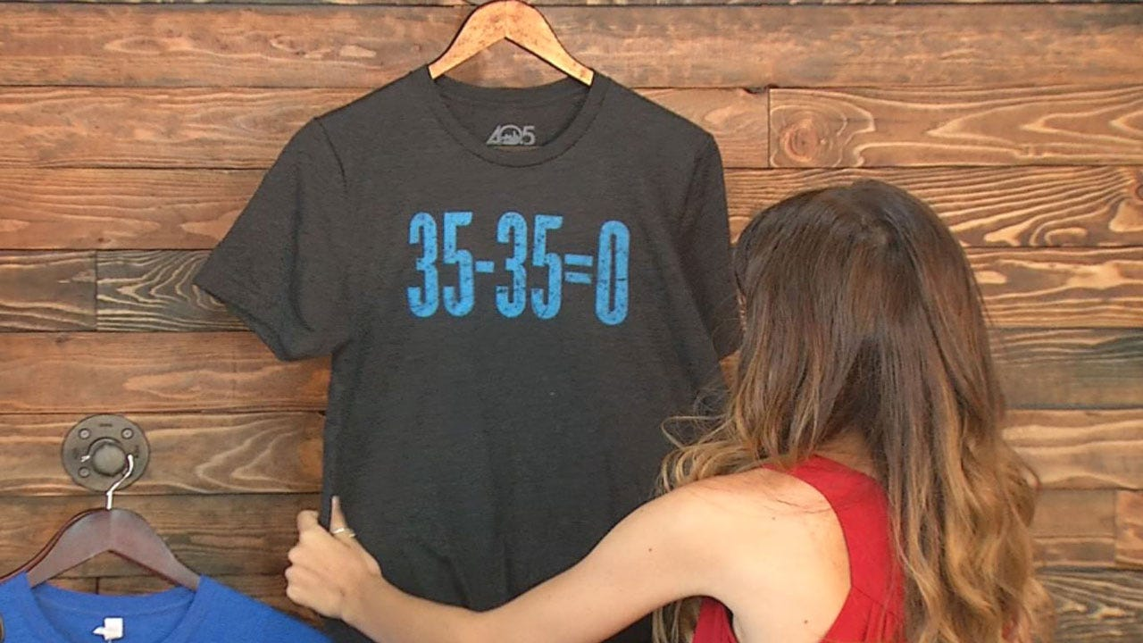 Zero Is My Hero: OKC Company Creates Unique Shirt For Thunder Fans