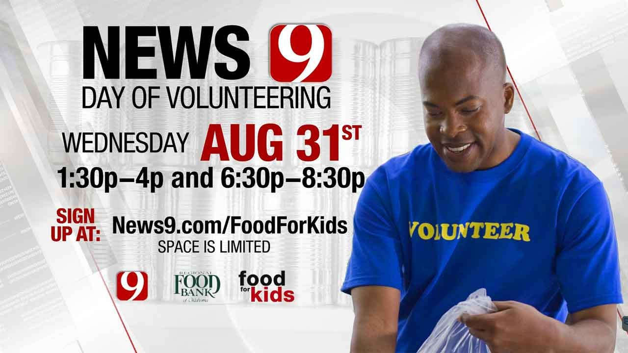 Join The Regional Food Bank, News 9 For A Day Of Volunteering