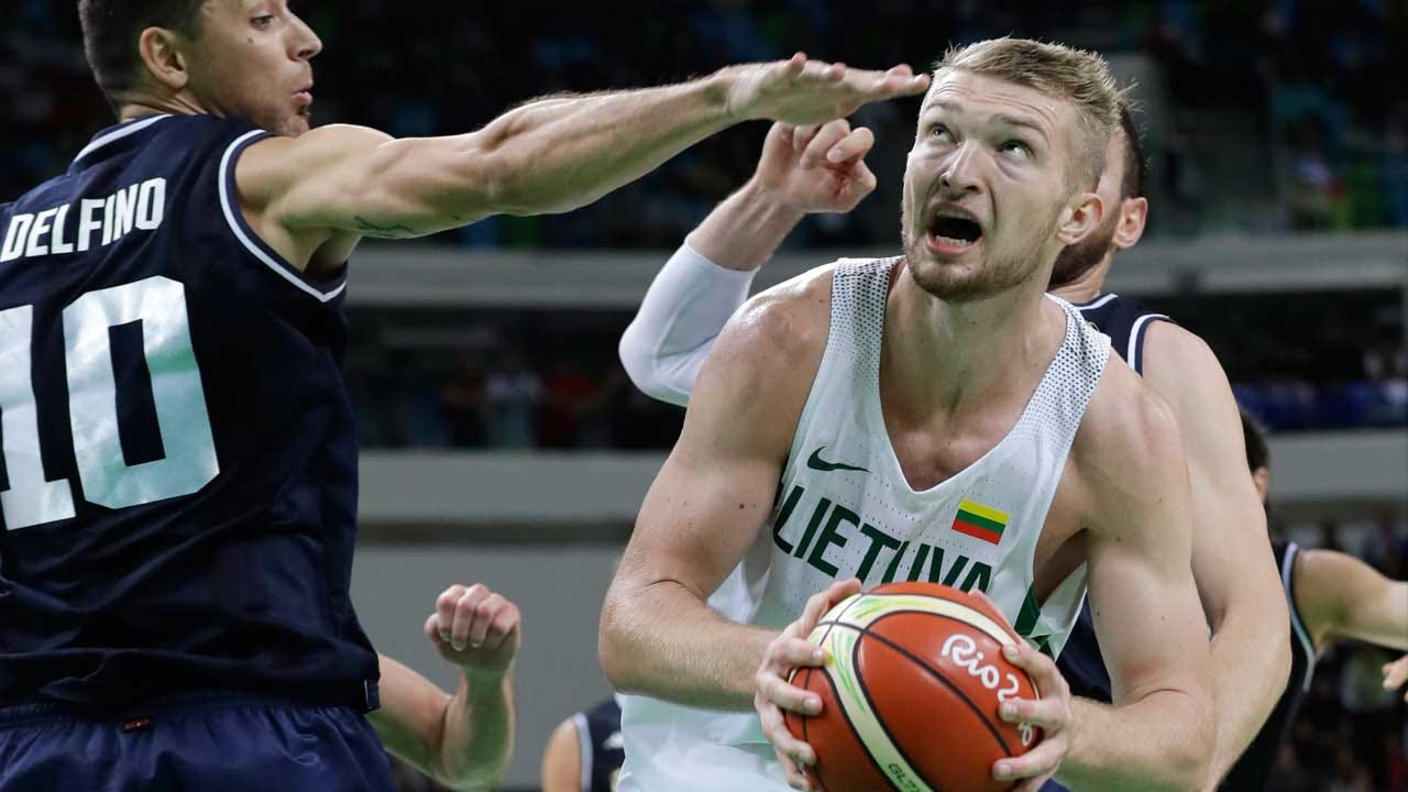 Thunder Officially Sign Rookie Forward Domantas Sabonis
