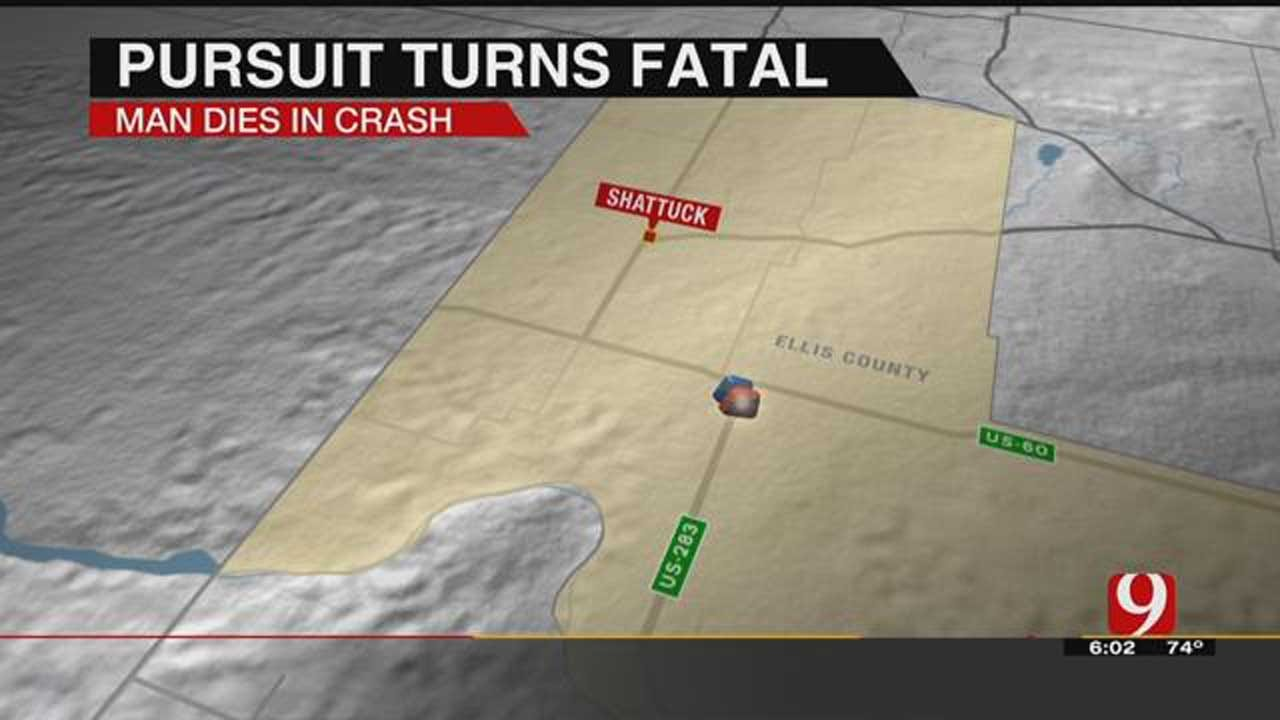 Police Pursuit Turns Deadly In Ellis County