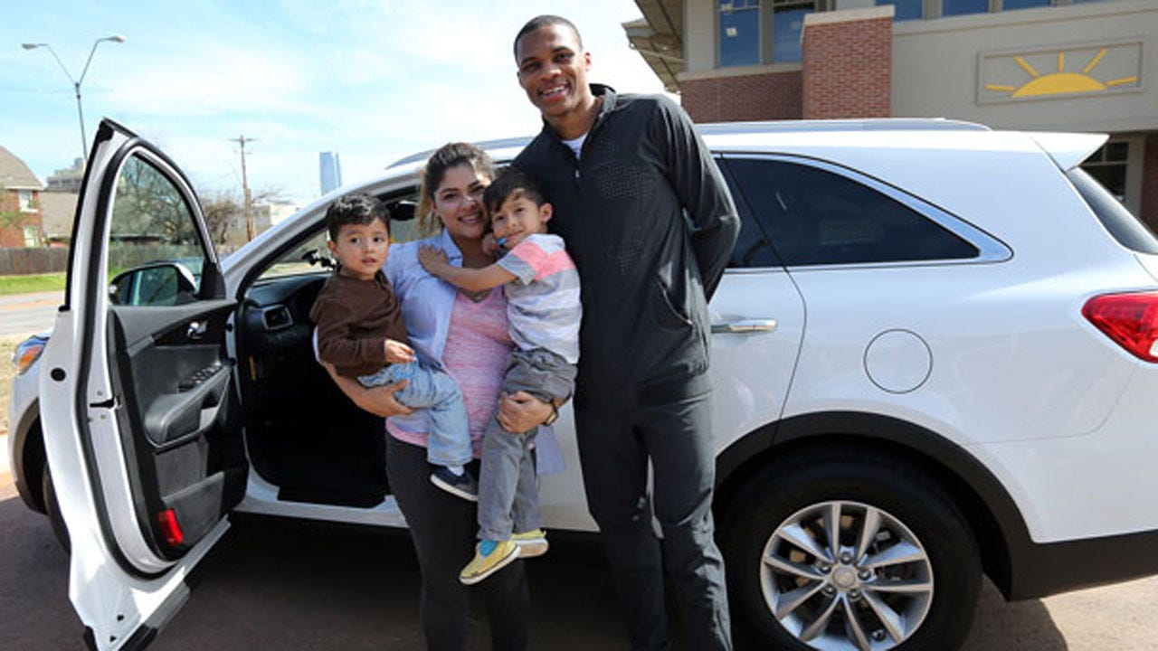 Russell Westbrook Tweets Out Commercial For His New Car Dealership