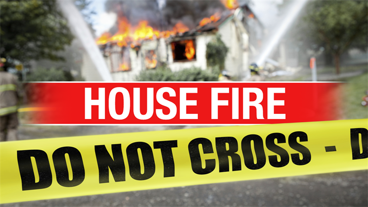 Crews Battle House Fire In Yukon