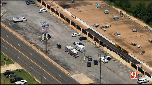 MWC Police: Clerk Shot During Armed Robbery At Dollar General
