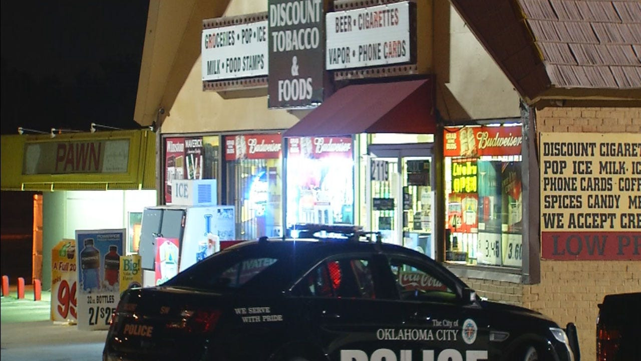 OKC Police Seek Suspect Who Attacked Store Clerk During Attempted Robbery